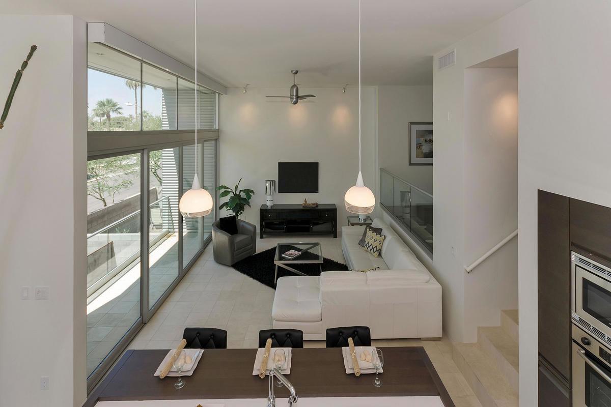 Phoenix Az Interior Decorator: Contemporary Downtown Phoenix