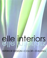 Elle Interiors Interior Design Phoenix Arizona also serving Scottsdale Chandler Gilbert Tempe Mesa West Valley, Residential Interior Design, Remodels, Color Consultations, New Home Consultations, Small Commercial Spaces,  and Staging to Sell