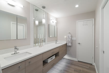 Mesa Contemporary Master Bathroom