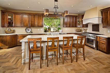 Warm Farmhouse Style Kitchen Remodel Chandler