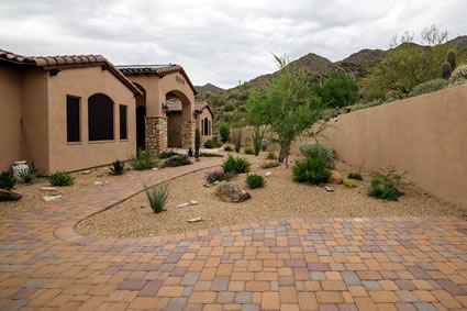 North Scottsdale Exterior Design New Build